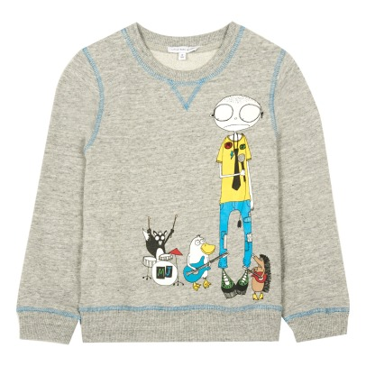 Little Marc Jacobs Mister Marc Sweatshirt-listing