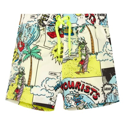 Stella McCartney Kids Baby Taylor Comic Strip Swim Shorts-listing