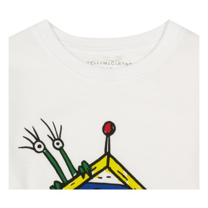 Stella McCartney Kids Barley Monster Cabin Organic Cotton T-Shirt-listing