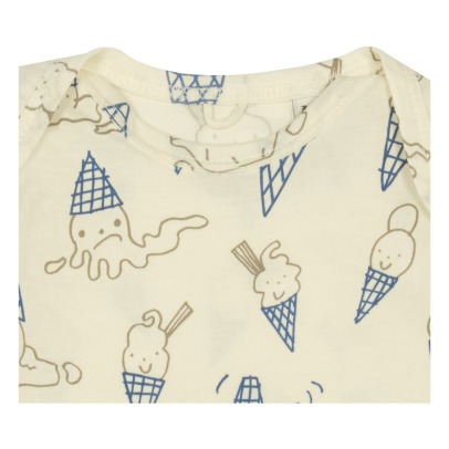 Stella McCartney Kids Rufus Ice Cream Organic Cotton Pyjamas-listing