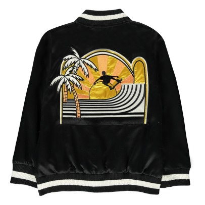 Stella McCartney Kids Eastwood Patch Bomber Jacket-listing