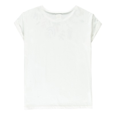 Des petits hauts Ilanita Flower Embroidered T-Shirt-listing