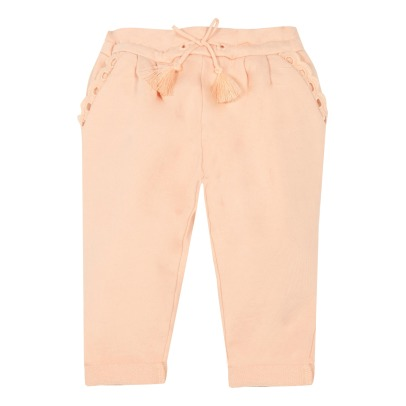 Sale - Pompom Embroidered Fleece Shorts - Chloé Chloé Fbzble