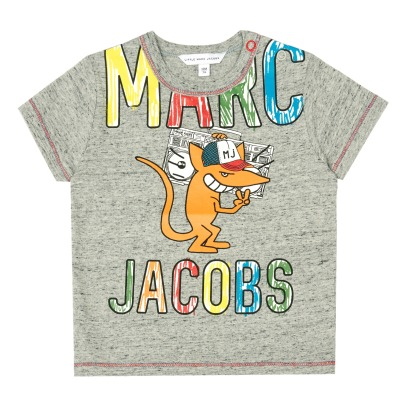 Little Marc Jacobs Graffiti Punk T-Shirt-listing