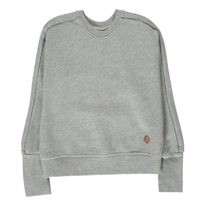 Bellerose Abe81 Lurex Trim Loose Sweatshirt-product