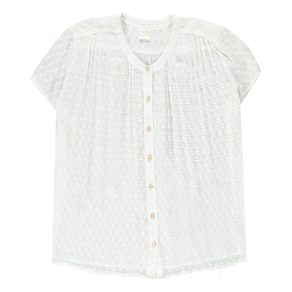 Jersey-Bluse mit Seideneinsatz des petit hauts fQyXn