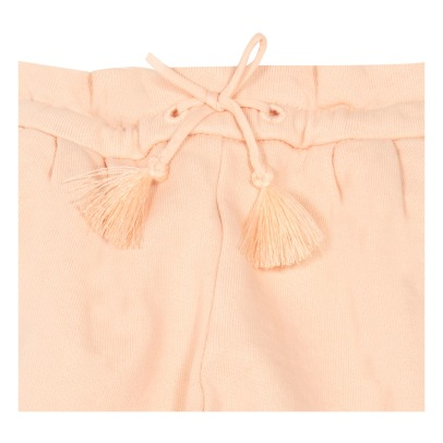 Chloé Pompom Embroidered Fleece Shorts-listing