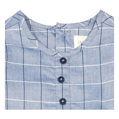 CARREMENT BEAU Checked Kurta-listing