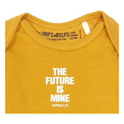 "Imps & Elfs T-shirt ""The future is mine"" in cotone bio -listing"