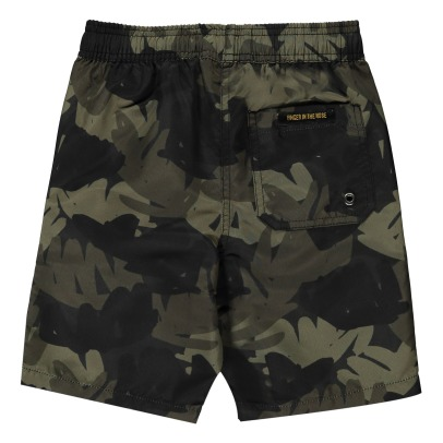 Finger in the nose Goodboy Foliage Swim Shorts-listing