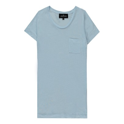 Little Remix New Blos Linen T-Shirt-listing