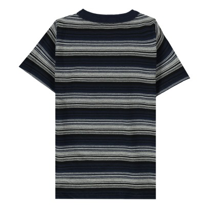 Finger in the nose Maddox Striped T-Shirt-listing