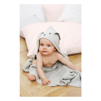 Liewood Rabbit Cotton and Cashmere Blanket-listing