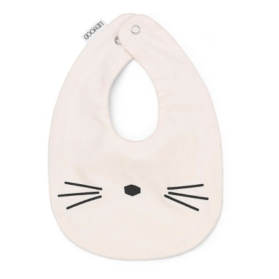 Liewood Henry Organic Cotton Cat Bibs - Set of 2-listing