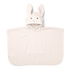 product-Liewood Orla Rabbit Organic Cotton Sweat Poncho