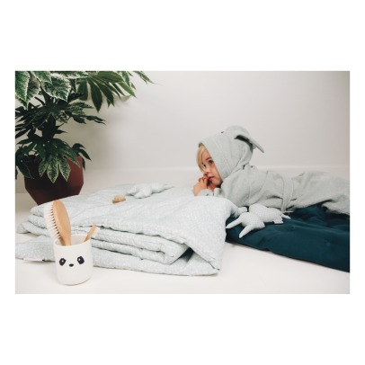Liewood Lily Rabbit Organic Cotton Sweat Dressing Gown-listing