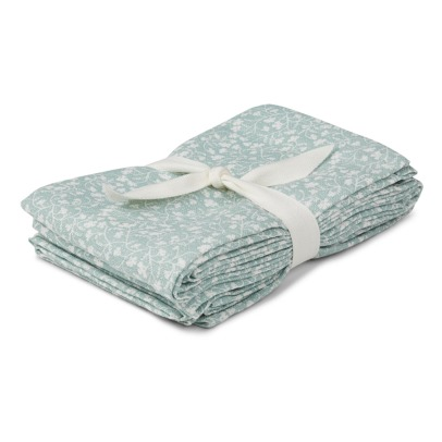 Liewood Hannah Organic Cotton Muslin Swaddles - Set of 2-listing