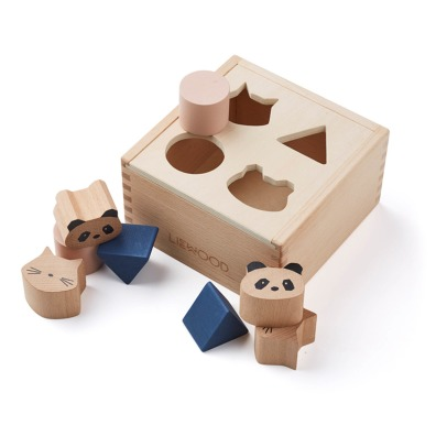 Liewood Mateo Wooden Shapes Box-listing