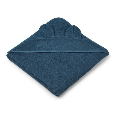 Liewood Augusta Bearcub Organic Cotton Sweat Bath Cape-listing