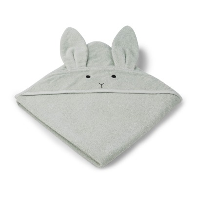 Liewood Augusta Rabbit Organic Cotton Sweat Bath Cape-listing