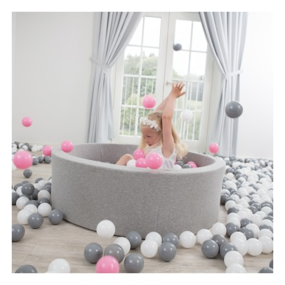 Misioo Pink, Silver, White and Transparent Ball Pool-listing