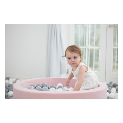 Misioo Silver, White and Grey Ball Pool-listing