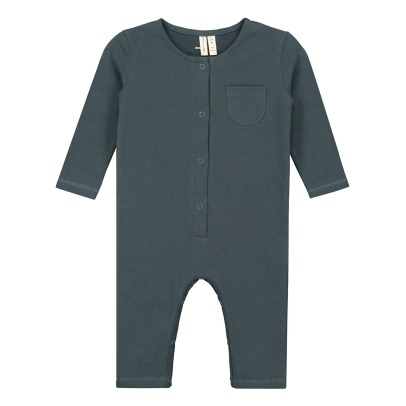Gray Label Organic Cotton Buttoned Jumpsuit-listing