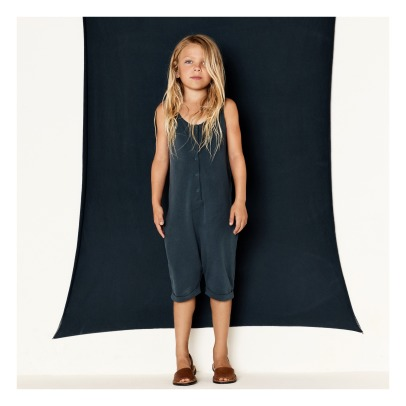 Gray Label Organic Cotton Dungaree Shorts-listing