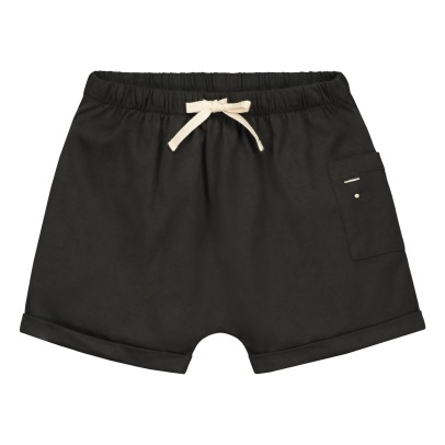 Gray Label Organic Cotton Elasticated Shorts with Pocket-listing