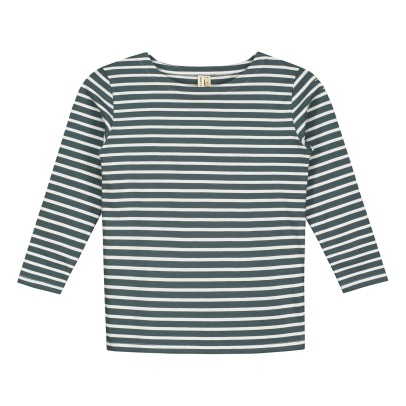 Gray Label Organic Cotton Striped T-Shirt-listing