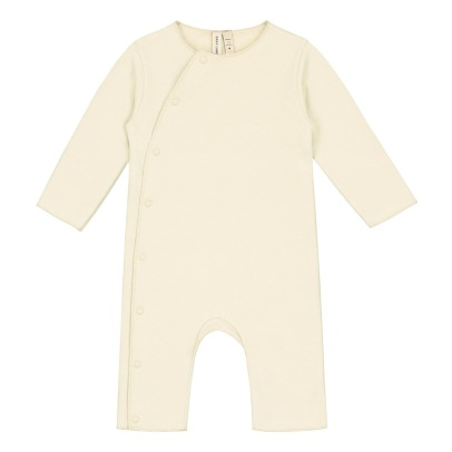 Gray Label Organic Cotton Jumpsuit with Poppers-listing