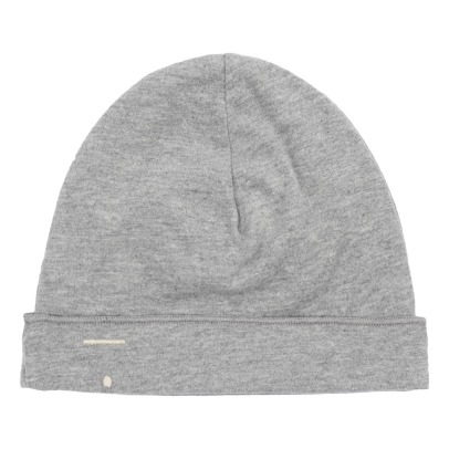 Gray Label Organic Cotton Jersey Baby Bonnet-listing