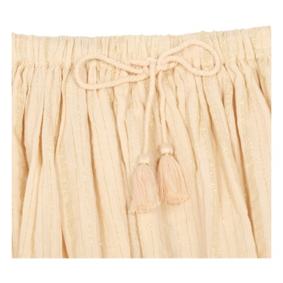 Louis Louise Opera Lurex Striped Skirt-listing