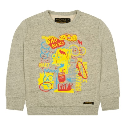 Finger in the nose Sudadera Pop Bart Brian-listing