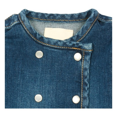 Louis Louise Abito in denim Lucien -listing