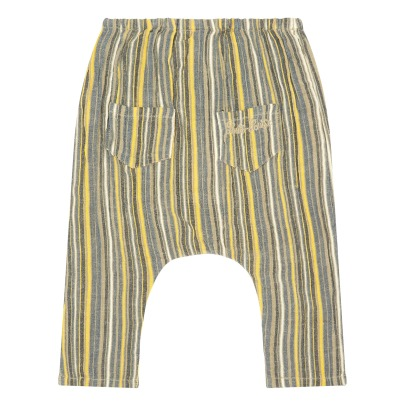 Louis Louise Jungle Striped Harem Trousers-listing