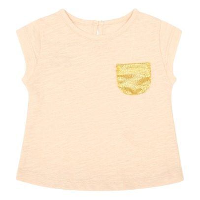 Louis Louise Anae Gold Pocket T-Shirt-listing