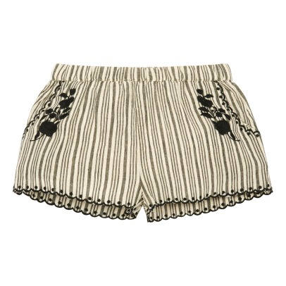 Louis Louise Inna Embroidered Stripe Shorts-listing
