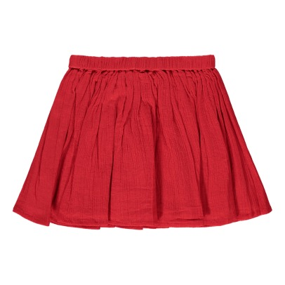 Louis Louise Opera Cotton Crepe Skirt-listing