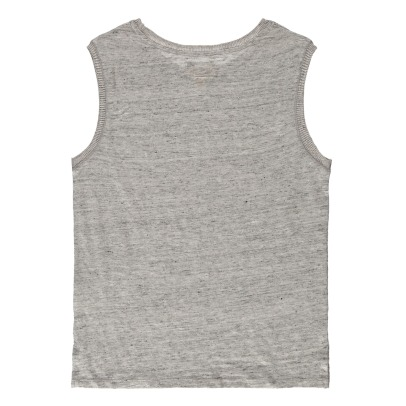 Bellerose Movie81 Linen Ribbed Side Vest Top-listing