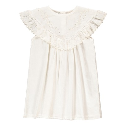 Louis Louise Angélique Ruffled Embroidered Dress-listing