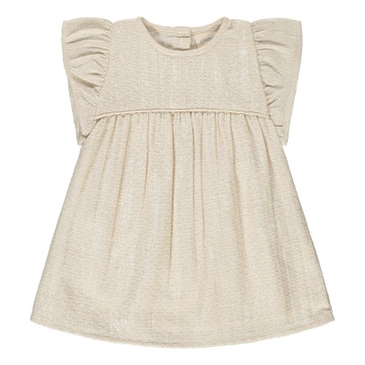 Robe rose pale bebe