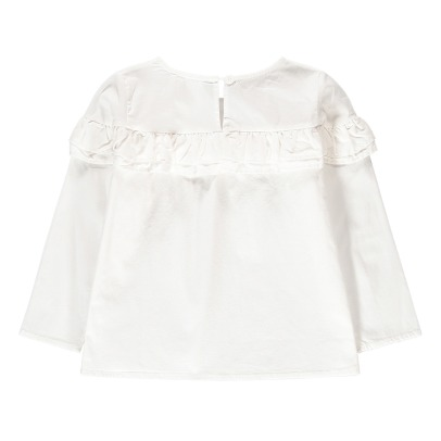Douuod Ruffled Blouse-listing