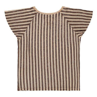 Bellerose Moli Striped Linen T-Shirt-product