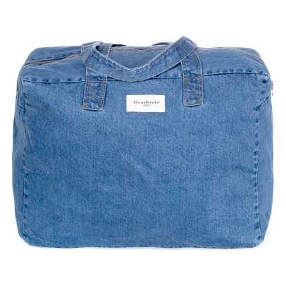 Rive Droite Elzevir Raw Denim 48h Bag-listing