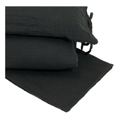Numero 74 Bedding set - dark grey-listing