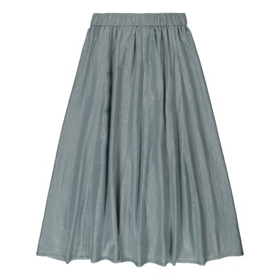 Louis Louise Duchesse Lurex Diamond Striped Maxi Skirt-listing