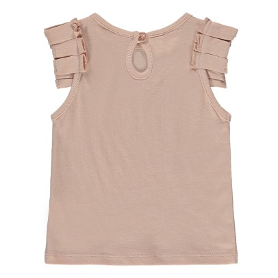 Stella McCartney Kids Cécile Ruffled Organic Cotton Top-listing