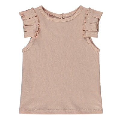 Stella McCartney Kids Top in cotone bio con volants Cecile-listing
