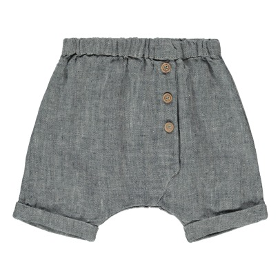 1+ IN THE FAMILY Monet Linen Shorts-listing